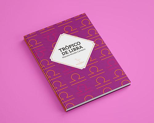 libro trópico de libra, color rosado